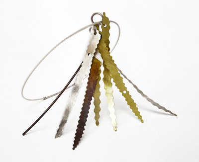 moon and sun feather necklace